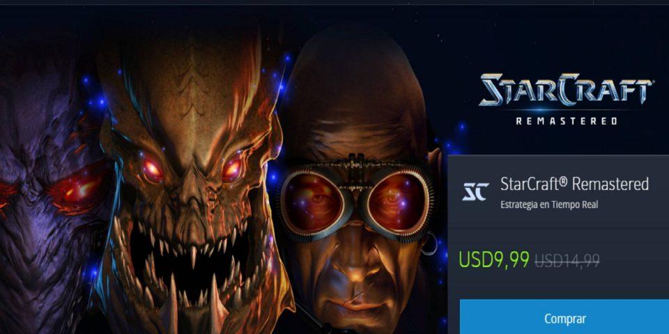 Ofertas Blizzard por fiestas: Ahorra en Overwatch, WoW, Diablo III, StarCraft II y StarCraft Remastered