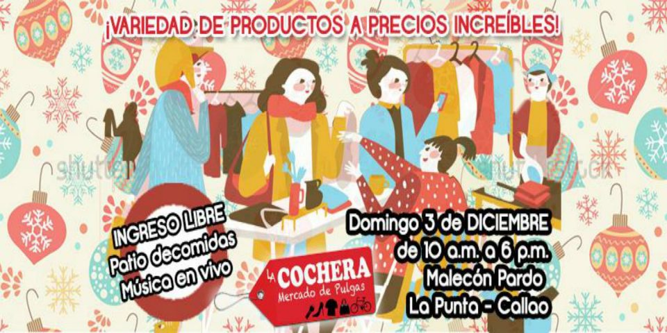 Feria La Cochera Mercado De Pulgas