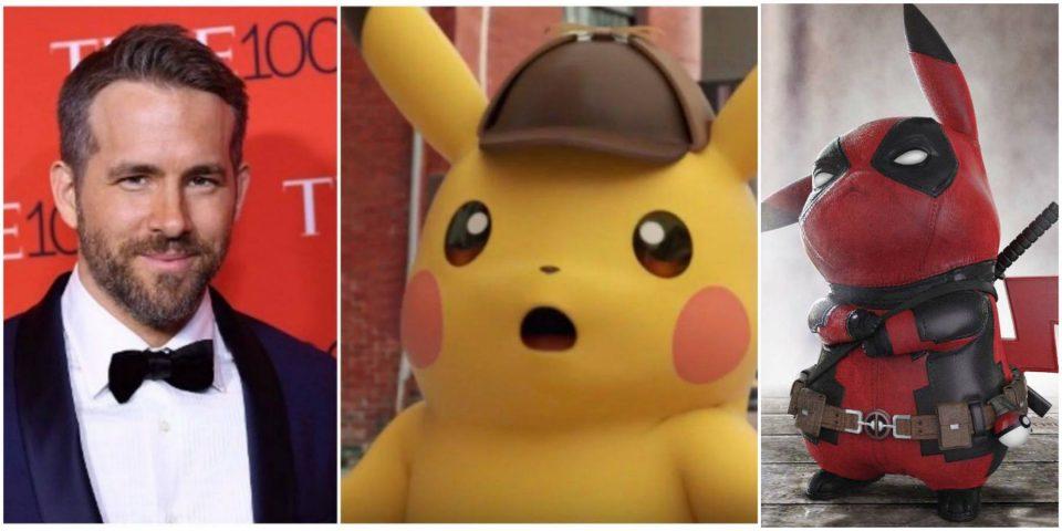 Ryan Reynolds interpretará a Pikachu en nueva película de Pokémon