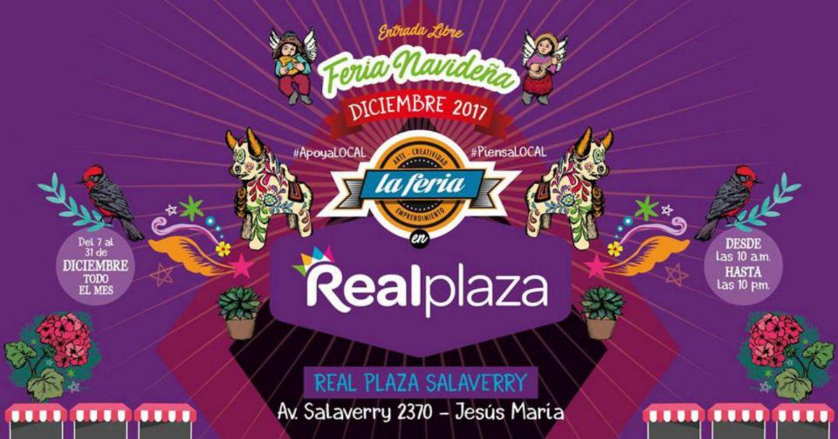 La Feria Navideña en Real Plaza Salaverry