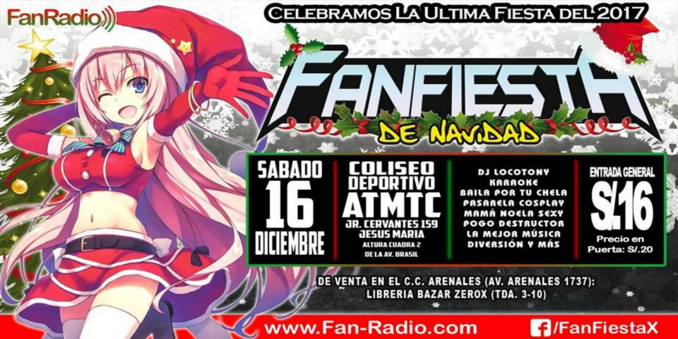 La FanFiesta de Navidad 2017