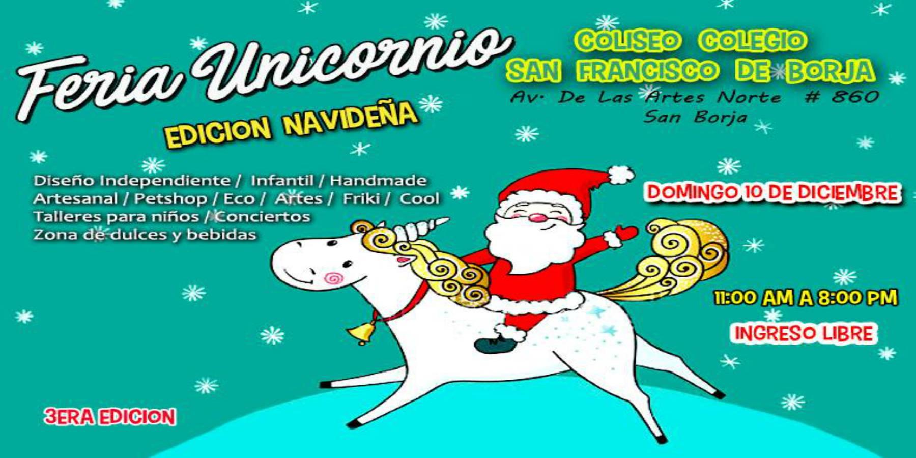 Feria Unicornio - 3era Edición Diciembre