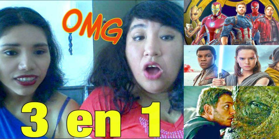 Episodio 1   Enfrentadas por Infinity War, Jurassic World 2 y Star Wars 8
