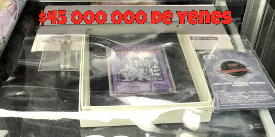 La carta ultra rara de Yu-Gi-Oh que vale más de 400 000 dólares