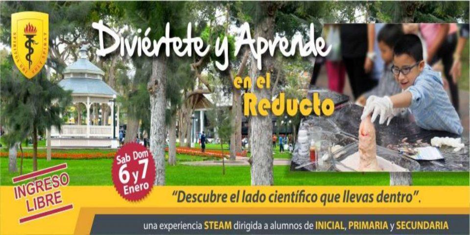 Diviérte y Aprende en Parque Reducto gracias a la Pre Cayetano Heredia