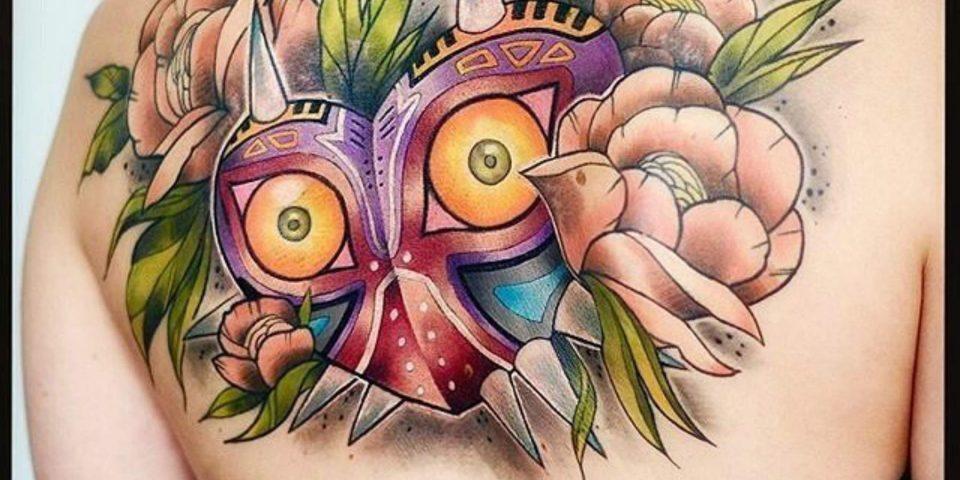 10 ideas de tatuajes sobre videojuegos que te encantarán