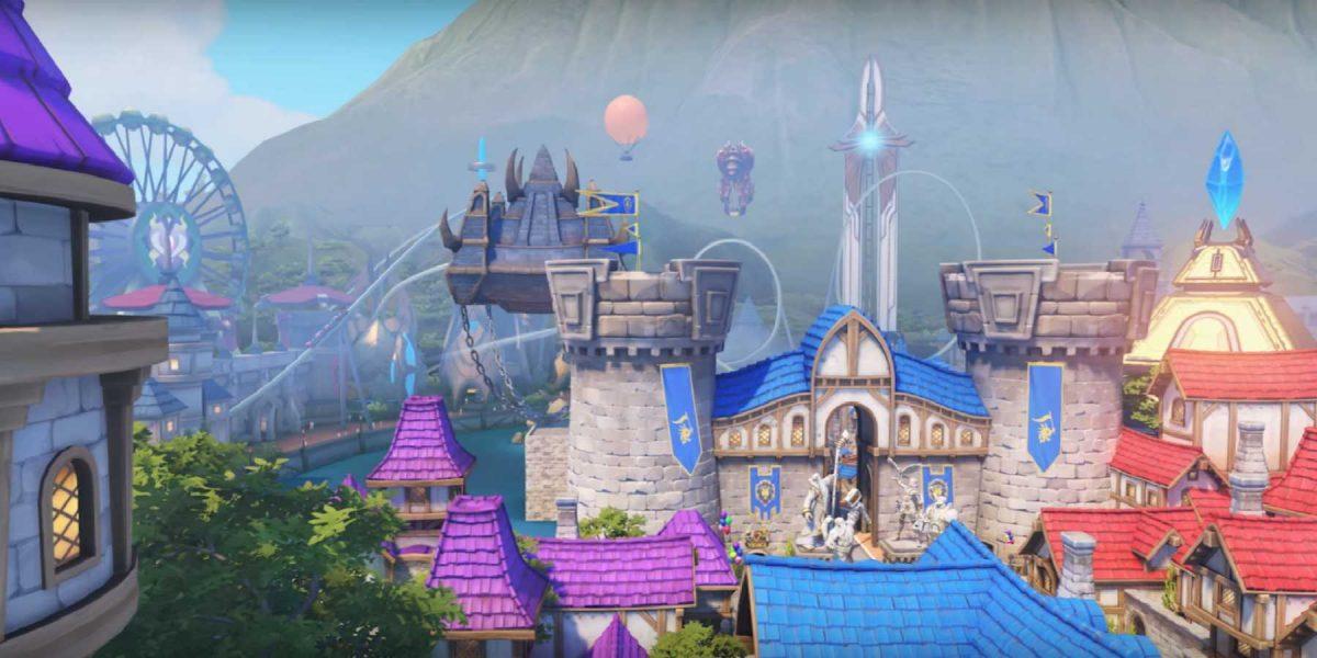 Mapa de Overwatch inspirado en parques de diversiones disponible
