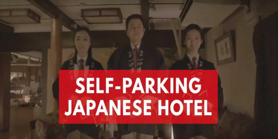 Nissan presenta las pantuflas que se autoestacionan