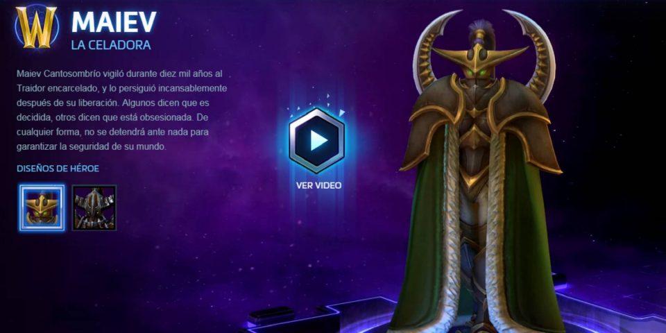 Nuevo contenido actualizado llega a Hearthstone y Maiev entra al Nexo en Heroes of the Storm