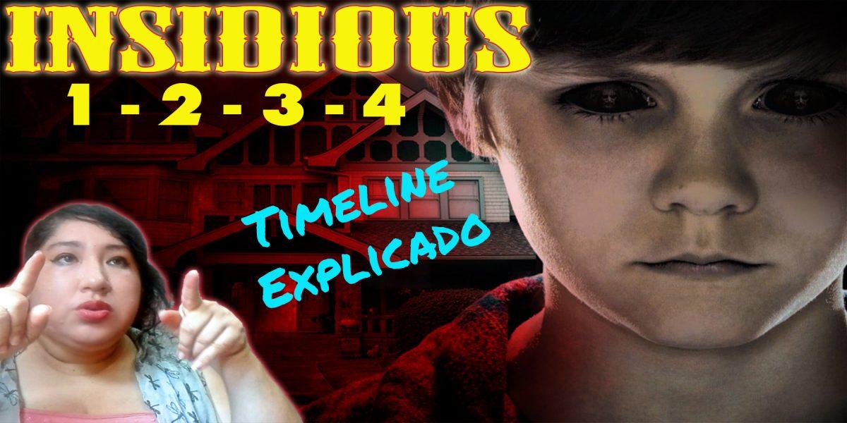 Insidious 1 - 4 | Explicamos la línea temporal de la saga