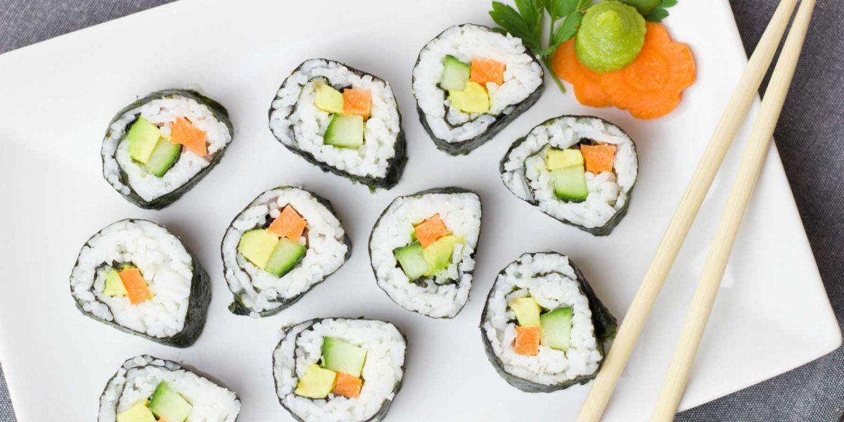 5 beneficios de comer Sushi