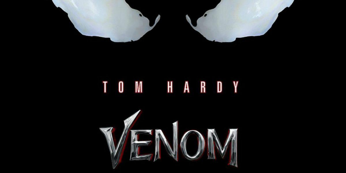 Publican póster de Venom, protagonizada por Tom Hardy