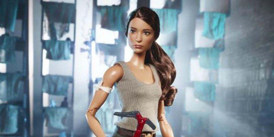 Anuncian muñeca Barbie de Tomb Raider