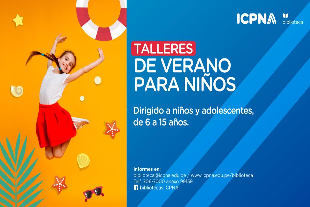 Icpna presenta sus talleres de verano para ni os y - Para ninos infantiles ...