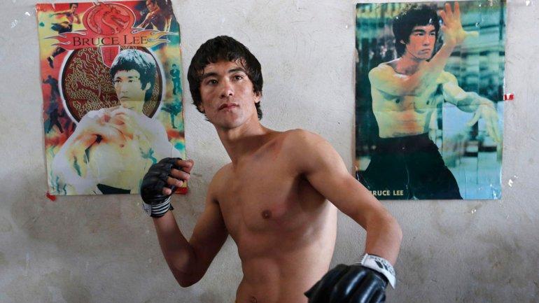 """La """"reencarnación"""" de Bruce Lee es un joven afgano"""